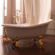 KERASAN Ванна 170х80см белая на ножках золото 1051K1gold               , , 187157.00 р., 1051K1gold , Kerasan, Ванны