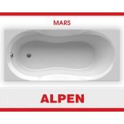 Акриловая ванна ALPEN Mars арт. AVP0012, 130*70 см