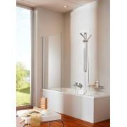 Шторка для ванны Huppe Design pure 512401.087.321, , 15600.00 р., 512401.087.321, Huppe, Душевые двери и стенки