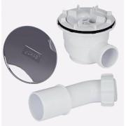 Слив для душевого поддона Huppe Verano 508055R55, , 2100.00 р., 508055R55, Huppe, Комплектующие для ванны
