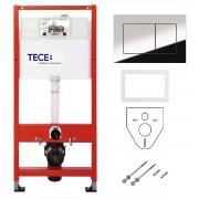 Комплект TECE К 400401, для установки подвесного унитаза, 4 в 1