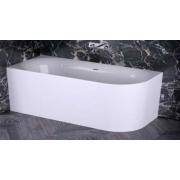 KNIEF Fresh Right Ванна пристенная, левая 180х80х60см, цвет белый , 0100-232, 174619.00 р., 0100-232, Knief, Ванны