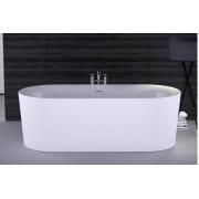 KNIEF Fresh Ванна отдельностоящая 180х80х60см, цвет белый, 0100-230, 174619.00 р., 0100-230, Knief, Ванны