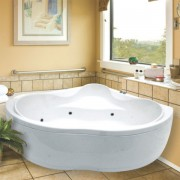 Ванна акриловая Am.Pm Bourgeois W65A-143C143W-A 143*143 см