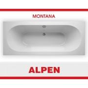 Акриловая ванна ALPEN Montana арт. AVB0011, 180*80 см
