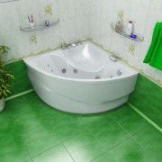 Акриловая ванна Triton Синди 125*125 см