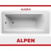 Акриловая ванна ALPEN Alaska арт. AVB0003, 160*75 см