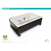 Ванна акриловая Акватика Гидра 190*120*67 см