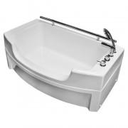 Ванна акриловая Радомир Чарли 120*69 см для хозяйственных нужд (мытья собак)