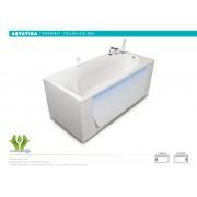 Ванна акриловая Акватика Кинетика 170*80*61 см