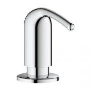 Дозатор жидкого мыла Grohe Zedra 40553, хром, 40553, 4643.00 р., 40553, Grohe, Для кухонных моек