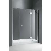 Двери в проем Cezares CRYSTAL-B-13-80+60/60-C-Cr, профиль-хром, 4QU1E3JQX, 64520.00 р., 4QU1E3JQX, Cezares, Душевые двери