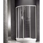 Душевая шторка Relax New Hadis-A 0138150100 90*90 см, стекло прозрачное, 4QU1E3O1Y, 38484.00 р., 4QU1E3O1Y, Relax, Душевые уголки