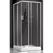 Душевая шторка Relax New Hadis-A 0137230100 DX 90*90 см правая, стекло прозрачное, 4QU1E3O72, 8308.00 р., 4QU1E3O72, Relax, Душевые уголки