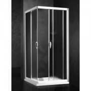 Душевая шторка Relax New Hadis-A 0137230100 SX 90*90 см левая, стекло прозрачное, 4QU1E3OJD, 24441.00 р., 4QU1E3OJD, Relax, Душевые уголки