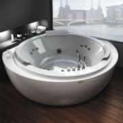 Акриловая ванна Jacuzzi Nova 160x160 , 9F43-554A, 563410.00 р., 9F43-554A, Jacuzzi, Гидромассажные