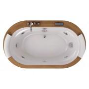 Акриловая ванна Jacuzzi Opalia 190x110 , 9F43-498A, 565985.00 р., 9F43-498A, Jacuzzi, Гидромассажные
