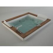 Акриловая ванна Jacuzzi Aura PLUS 180x150 9F43-337A, 9F43-337A, 539550.00 р., 9F43-337A, Jacuzzi, Гидромассажные