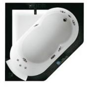Акриловая ванна Jacuzzi Aura 140x140 , 9F43-493A, 664247.00 р., 9F43-493A, Jacuzzi, Гидромассажные