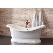 Ванна Astra-Form Мальборо белая 189*87 см, Astra-Form Мальборо белая, 70246.00 р., Astra-Form Мальборо белая, Astra-Form, Из искусственного камня