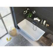 Ванна из литого мрамор ALPEN Novara арт. NOV-170M, 169*80 см, 4QU1E3I33, 299347.00 р., 4QU1E3I33, Alpen, Из искусственного камня