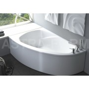Ванна Astra-Form Тиора белая 155*105 см (левая/правая), Astra-Form Тиора, 33681.00 р., Astra-Form Тиора, Astra-Form, Из искусственного камня