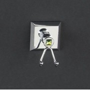 Двойной крючок Cristal-et-Bronze Contemporain 7705, 4QU1E3MSJ, 17094.00 р., 4QU1E3MSJ, Cristal-et-Bronze, Крючки