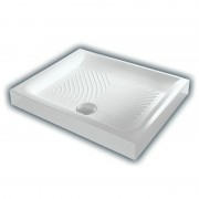 Душевой поддон Am.Pm Inspire S square W51T-GSSO-100W, 100*100 см, 4QU1E3GDJ, 30659.00 р., 4QU1E3GDJ, Am.Pm, Поддоны