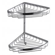 Двойная угловая полочка с крючком Colombo Complimenti B9617, B9617, 9888.00 р., B9617, Colombo, Полочки