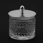 Большая прозрачная баночка Cristal-et-Bronze Boutique 31525, 4QU1E3NY5, 27335.00 р., 4QU1E3NY5, Cristal-et-Bronze, Прочие аксессуары