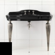 Раковина с консолью Devon&Devon Serenade Consolle DESERENADENEFGNE