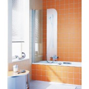 Шторка для ванны Kermi Atea AT DF 07515VAK, 75*150 см, 4QU1E3M3C, 45927.00 р., 4QU1E3M3C, Kermi, Шторка для ванны