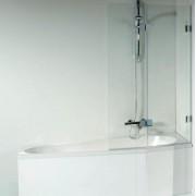 Шторка для ванны Riho Scandic S-500 арт. GC63200, 80 см, 4QU1E3N1M, 88733.00 р., 4QU1E3N1M, Riho, Шторка для ванны