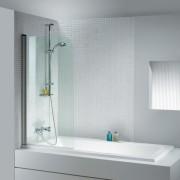 Шторка для ванны Riho Nautic N-107 GGT0210900800, 90 см, 4QU1E3N93, 44183.00 р., 4QU1E3N93, Riho, Шторка для ванны
