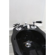 Cмеситель Devon&Devon Black Dandy MARF45CRBD для биде на 3 отв., черные ручки, 4QU1E436O, 28391.00 р., 4QU1E436O, Devon&Devon, Смесители