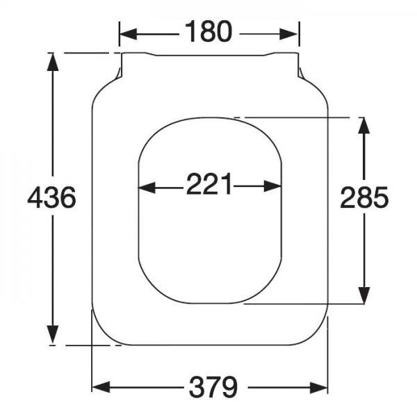 Крышка-сиденье для унитаза Villeroy&Boch Venticello 9M80 S101 микролифт