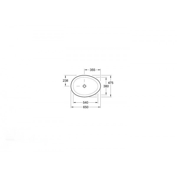 Villeroy&Boch Раковина накладная Aveo 4132 60R2