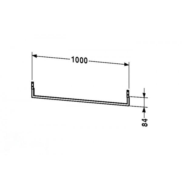 Duravit Полотенцедержатель для топа FOGO FO9984