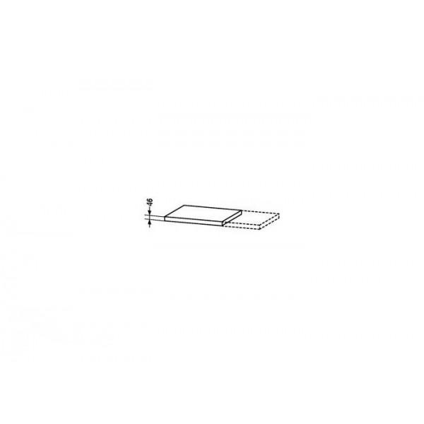 Duravit Топ для раковины X-LARGE XL066C08585