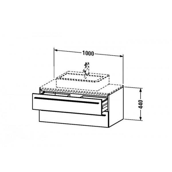 Duravit Тумба подвесная X-LARGE XL671608585