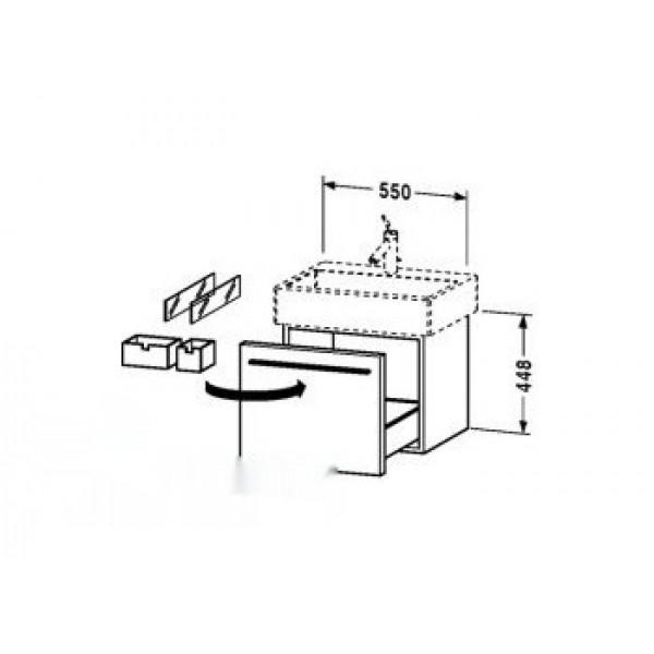 Комплект мебели Duravit X-Large 6044 белый