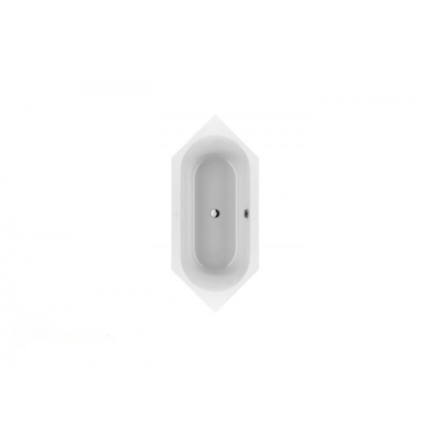 Villeroy&Boch Ванна 205х90см Loop&Friends Square Duo Oval UBA205LFS6V-01