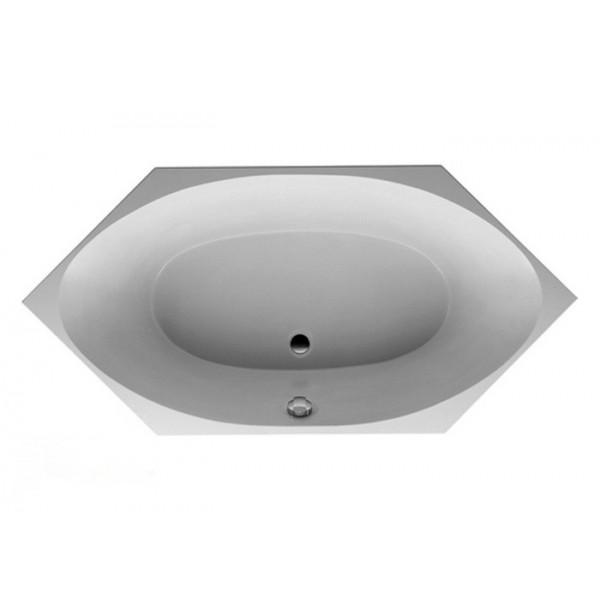 Duravit Ванна шестиугольная белая 700023000000000