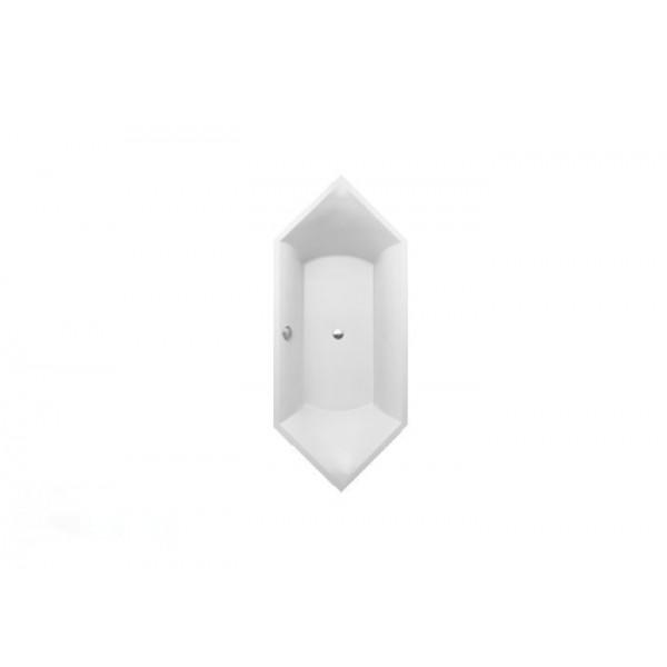 Villeroy&Boch Ванна шестиугольная 190х80см Squaro UBQ190SQR6V-01