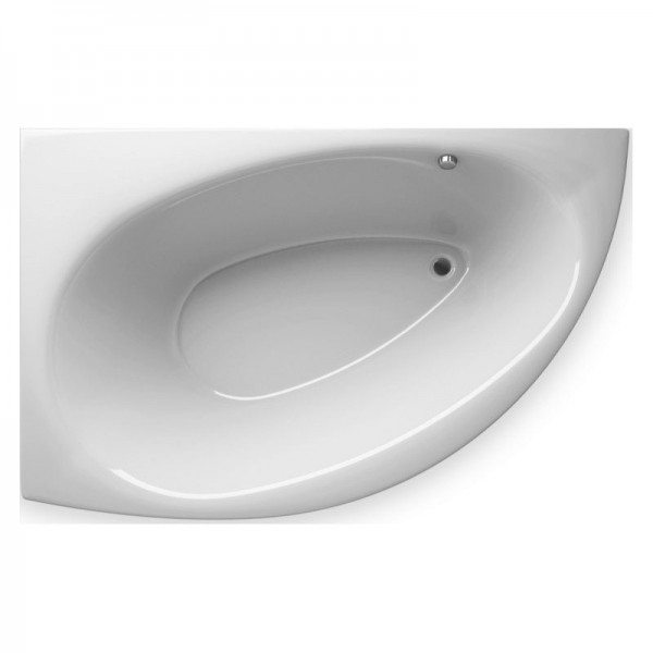 Акриловая ванна ALPEN Nevada арт. AVB0014 140*90 см, левая