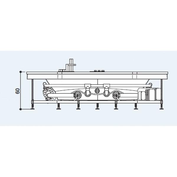 Акриловая ванна Jacuzzi Aura 164x164