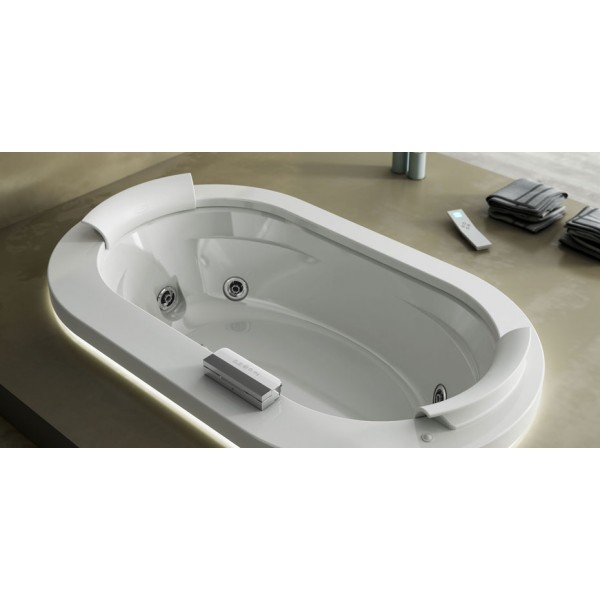 Акриловая ванна Jacuzzi Opalia 190x110